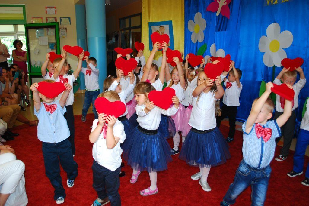 święto Rodziny Przedszkole Słoneczne W Woli Rzędzińskiej